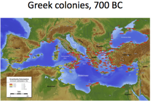 Greek City States And Colonies